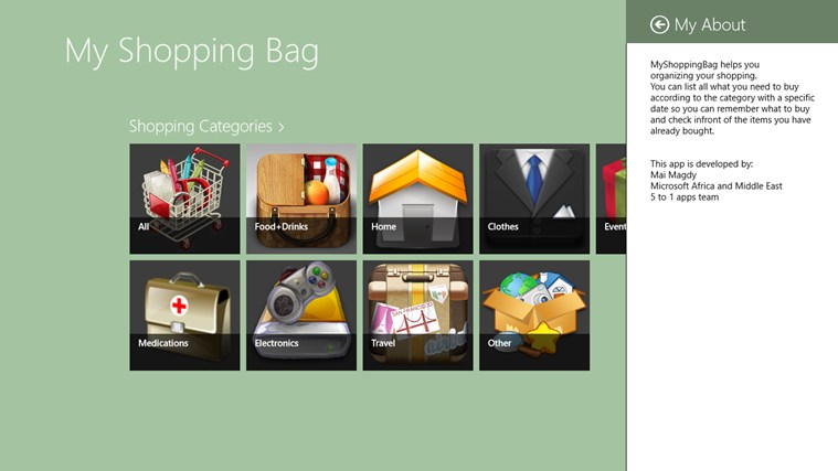 My Shopping Bag screen shot 7