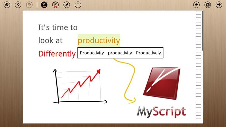 MyScript Notes Mobile screen shot 3
