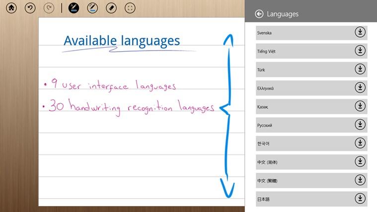 MyScript Notes Mobile screen shot 5