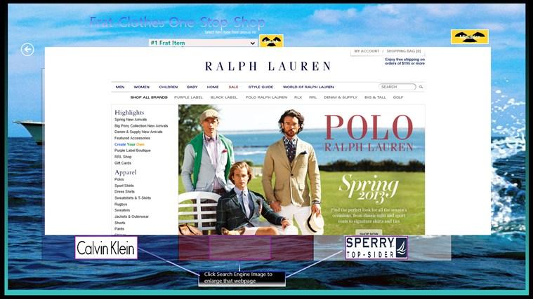 Frat Clothes One-Stop-Shop screen shot 3