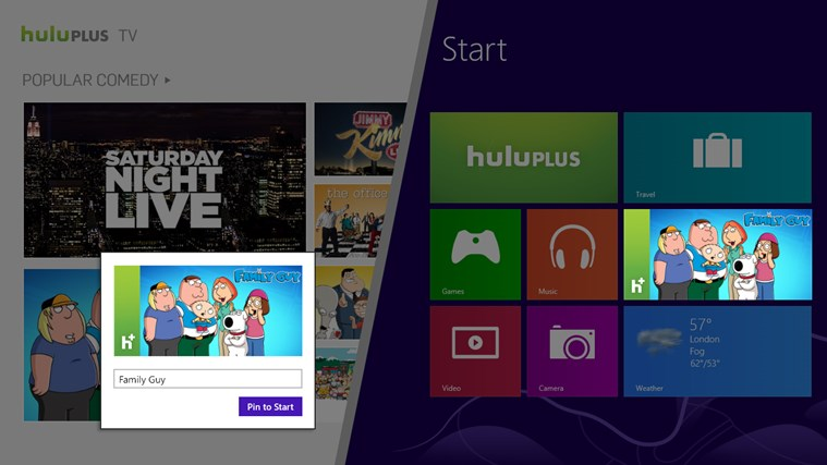 Hulu Plus screen shot 5