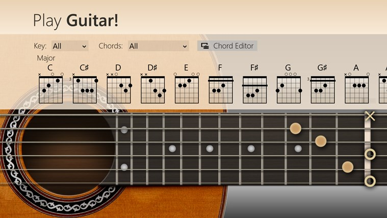 Play Guitar! screen shot 1