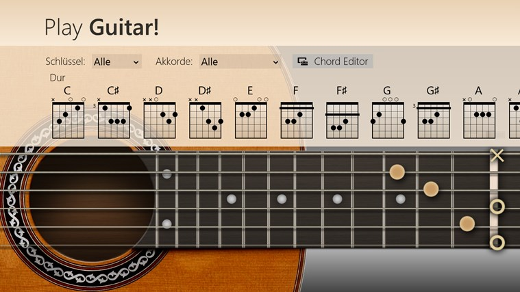Play Guitar! Screenshot 1