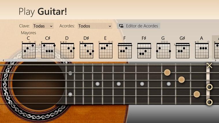 Play Guitar! captura de pantalla 1