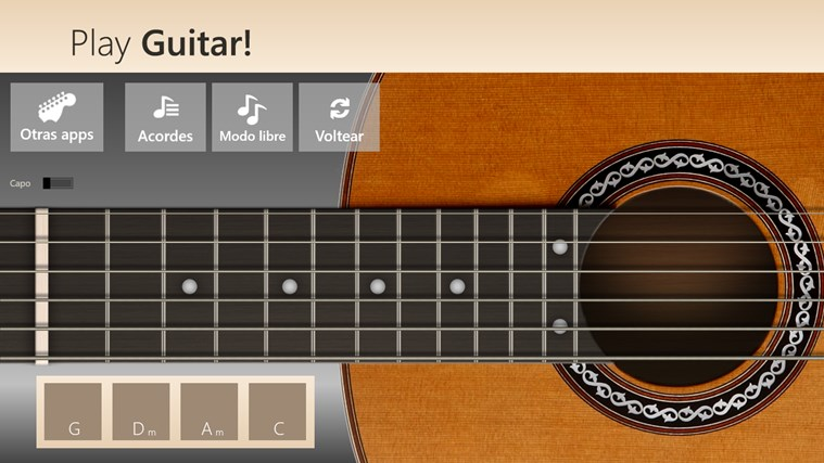 Play Guitar! captura de pantalla 5