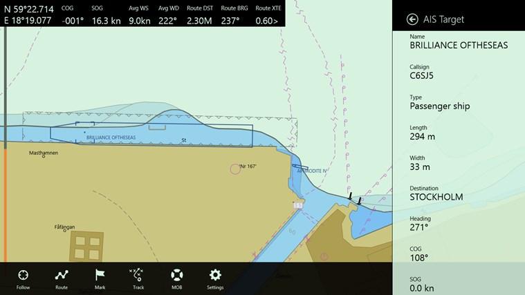 Seapilot-skärmbild 3