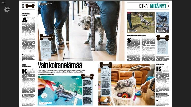 Helsingin Sanomat näyttökuva 5