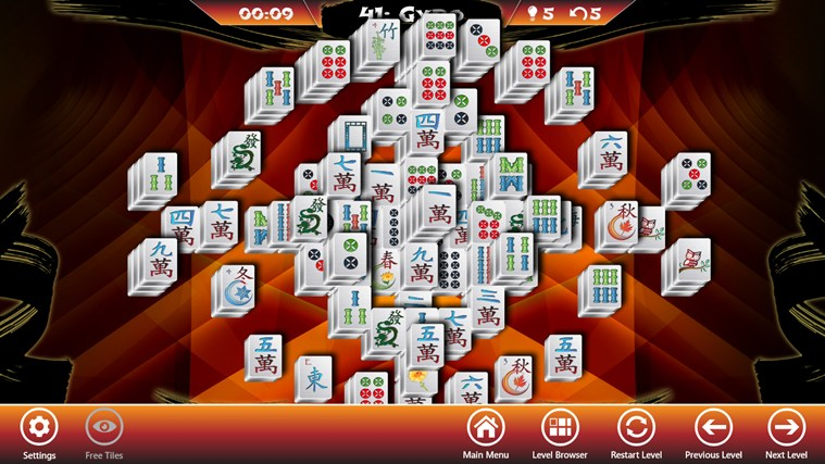Mahjong Solitaire screen shot 5