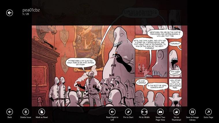 comics Jolt! screen shot 1