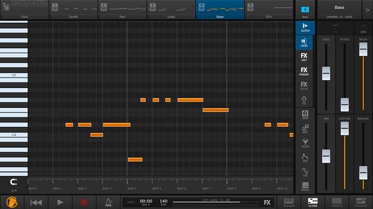 FL Studio Groove schermafbeelding 1