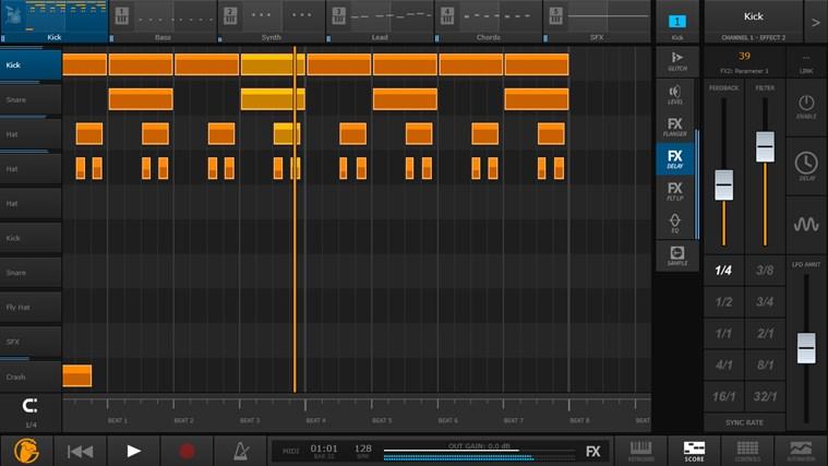 FL Studio Groove schermafbeelding 5