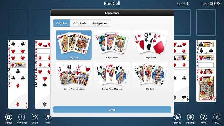 Freecell Microsoft