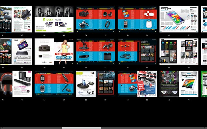 Pocketmags screen shot 5