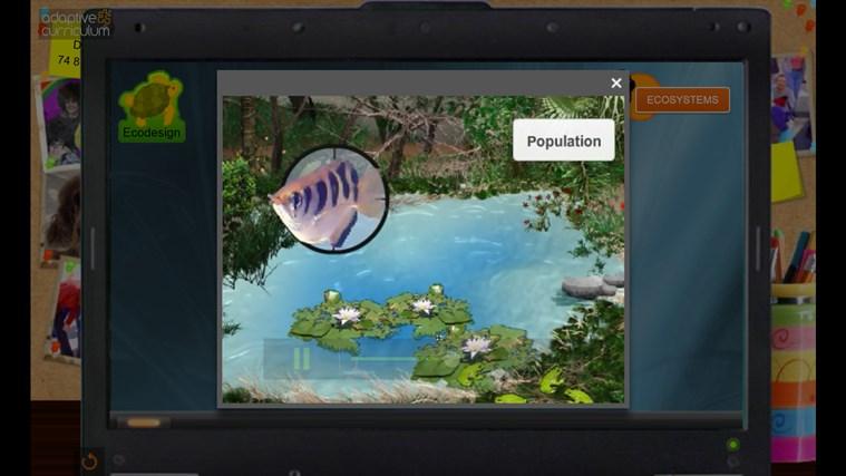 AC Life Science: Habitat Designer: Sea Turtles snímek obrazovky 1