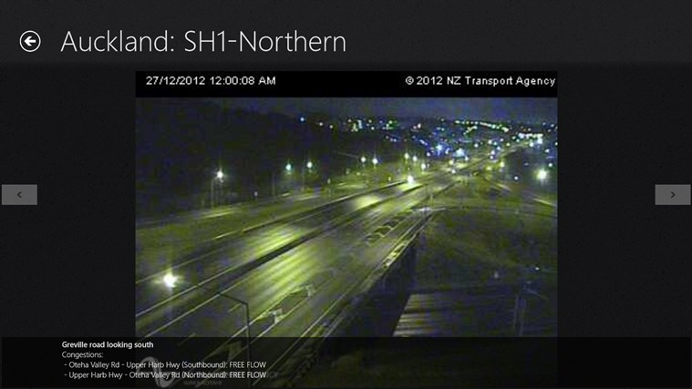 NZ Traffic screen shot 3
