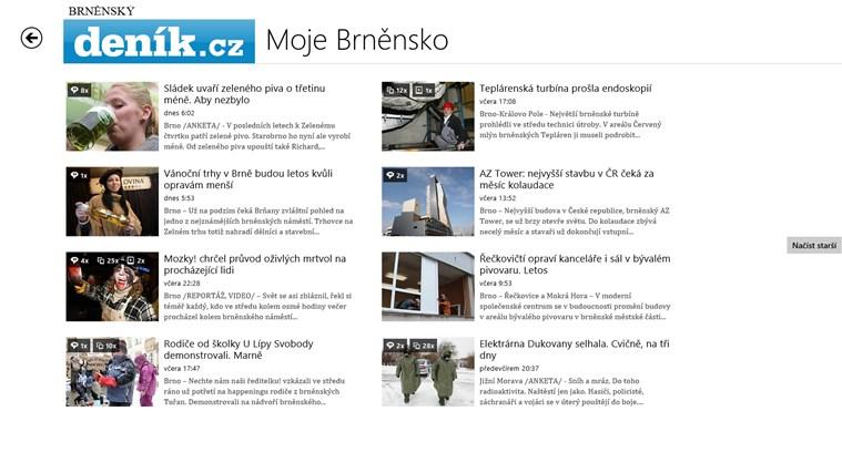 Deník.cz snímek obrazovky 1