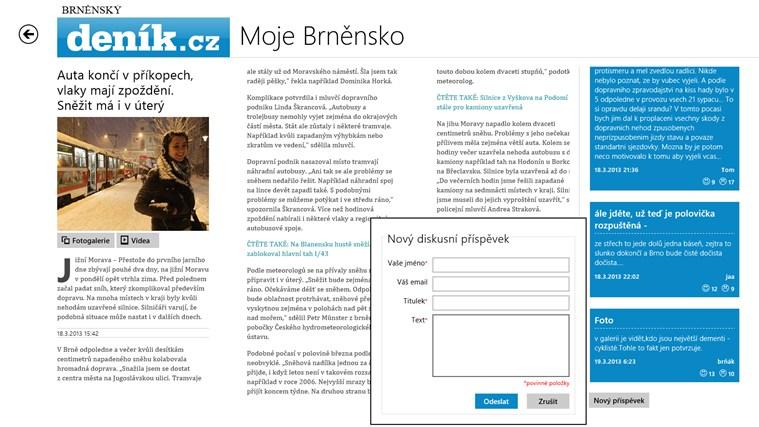 Deník.cz snímek obrazovky 3