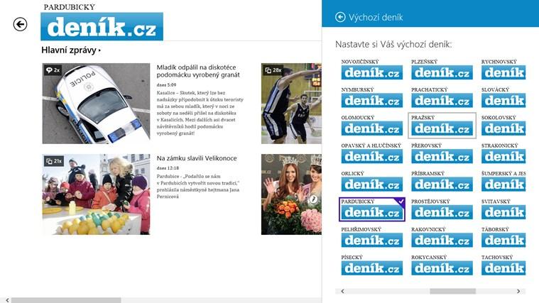 Deník.cz snímek obrazovky 7