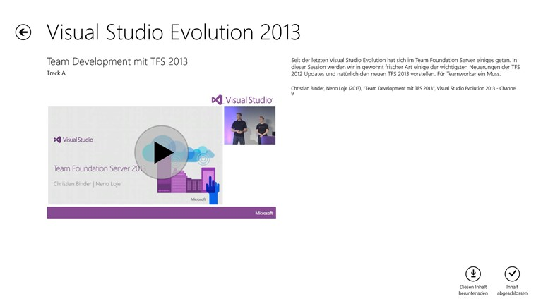Visual Studio Evolution Screenshot 3