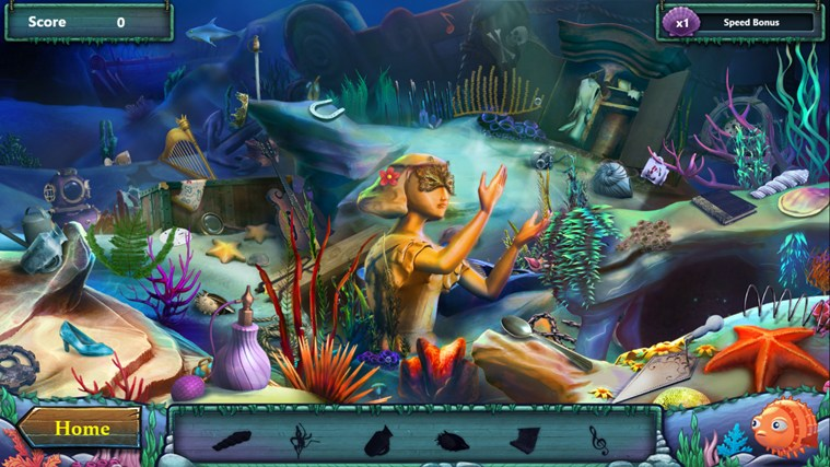 Disney The Little Mermaid Undersea Treasures screen shot 1