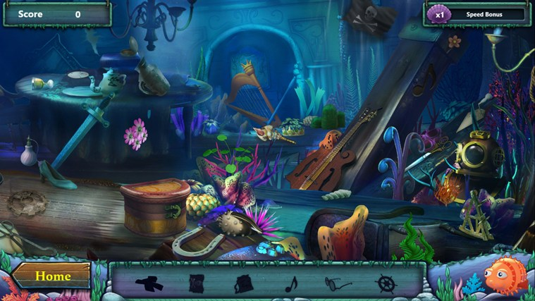 Disney The Little Mermaid Undersea Treasures screen shot 3