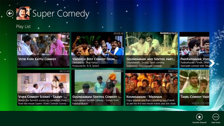 Tamil TV screen shot 1
