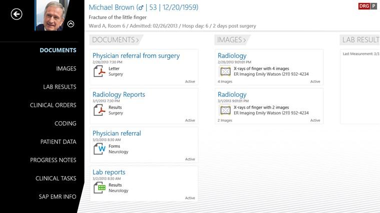 SAP EMR Unwired screen shot 1