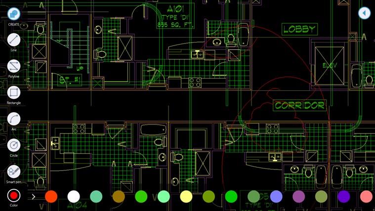 AutoCAD 360 screen shot 3