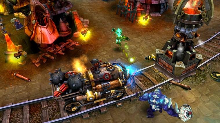 Heroes of Order & Chaos - Multiplayer Online Battle screen shot 1