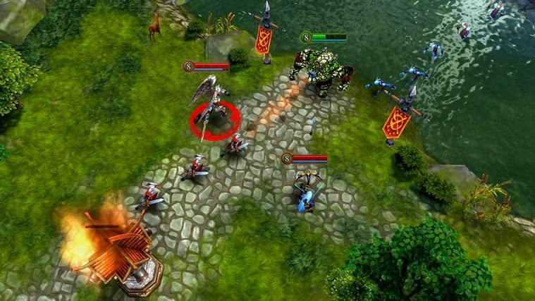 Heroes of Order & Chaos - Multiplayer Online Battle screen shot 3