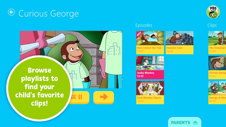 PBS KIDS Video screen shot 1