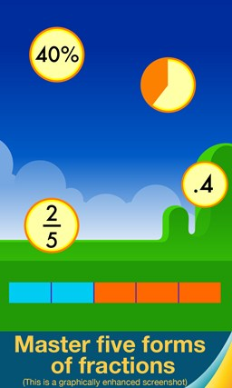 Motion Math: Fractions! screen shot 3