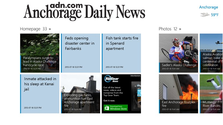 Anchorage Daily News screen shot 1