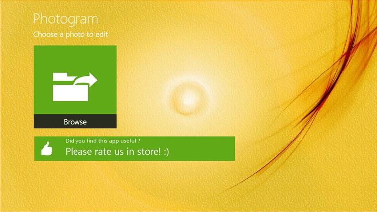 Photogram free screen shot 1