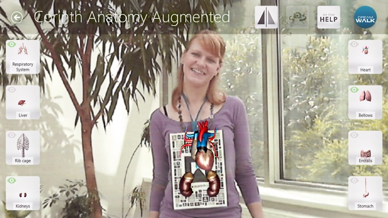 Corinth Micro Anatomy Augmented screen shot 1