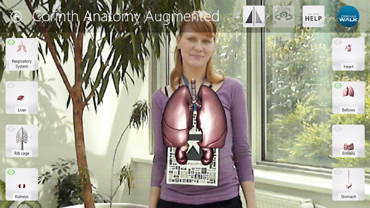 Corinth Micro Anatomy Augmented screen shot 3