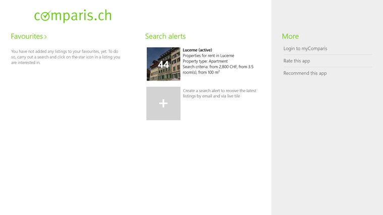 Property Switzerland screen shot 5