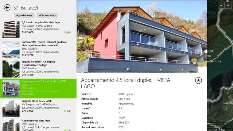 Immobili Svizzera cattura di schermata 1