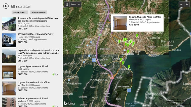 Immobili Svizzera cattura di schermata 3