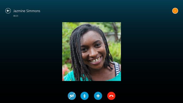 Skype screen shot 1