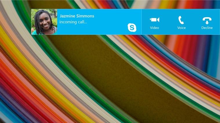 Skype screen shot 5
