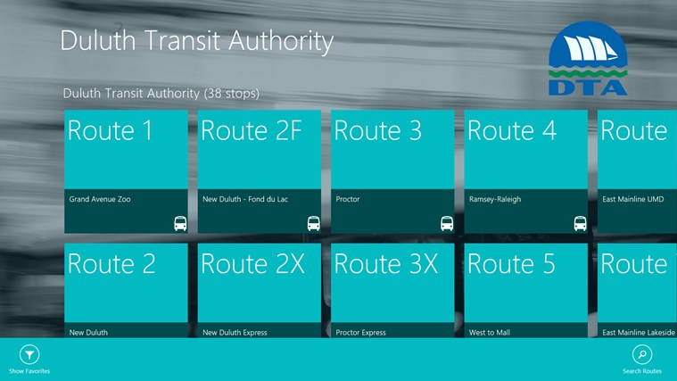 Duluth Transit Authority screen shot 1
