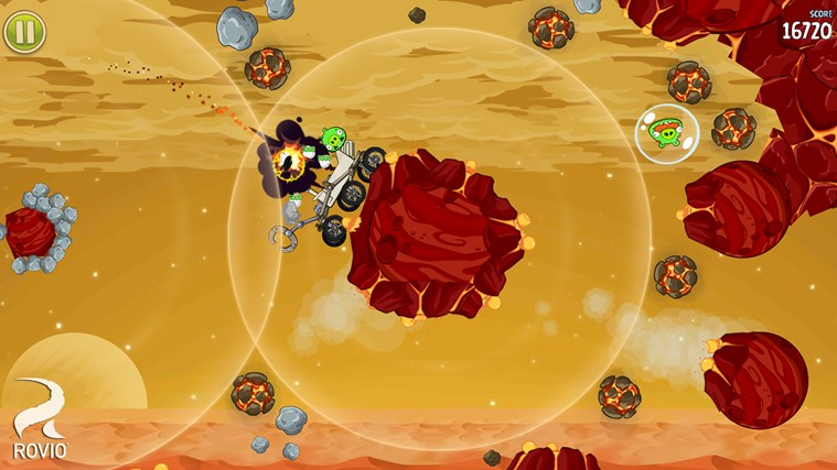 Angry Birds Space screen shot 3