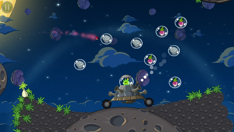 Angry Birds Space screen shot 5