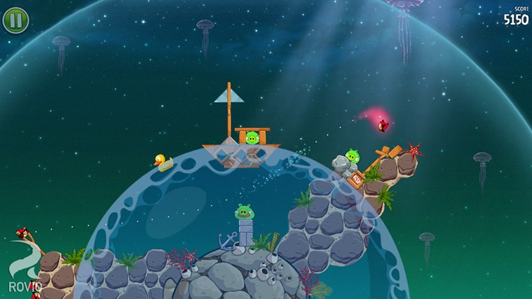Angry Birds Space screen shot 7