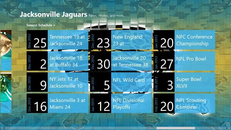 Jacksonville Jaguars Live screen shot 3