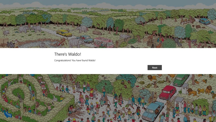 Where's Waldo screen shot 1