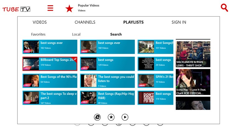 TubeTV for YouTube screen shot 3