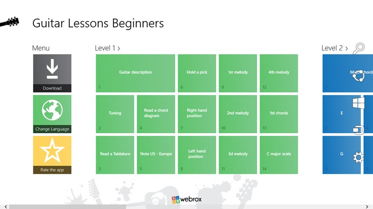 Guitar Lessons Beginners #1 screen shot 1