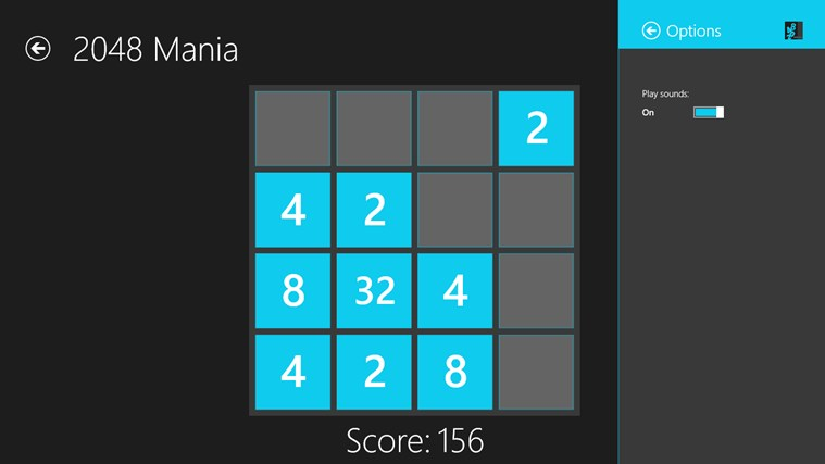 2048 Mania screen shot 7